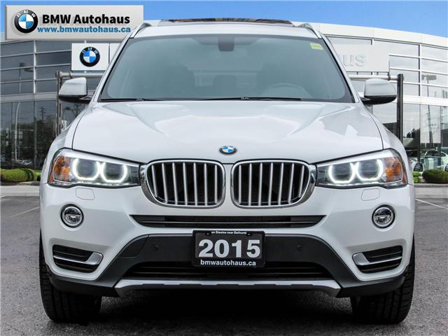 2015 BMW X3 xDrive28i (Stk: P8325) in Thornhill - Image 2 of 31