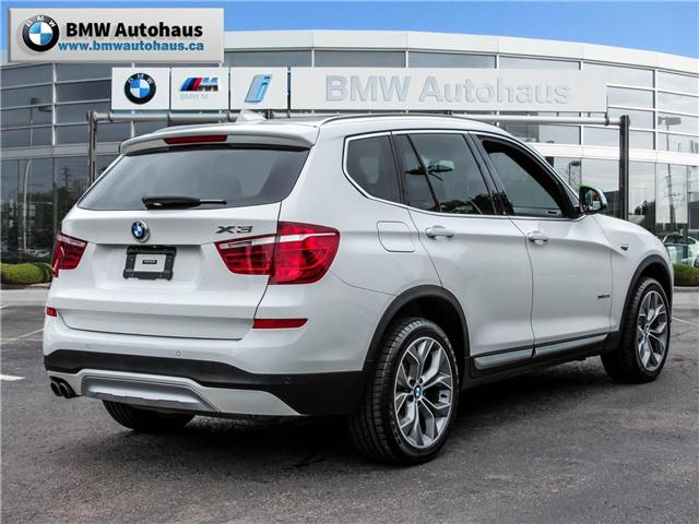 2015 BMW X3 xDrive28i (Stk: P8325) in Thornhill - Image 5 of 31