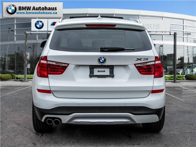 2015 BMW X3 xDrive28i (Stk: P8325) in Thornhill - Image 6 of 31