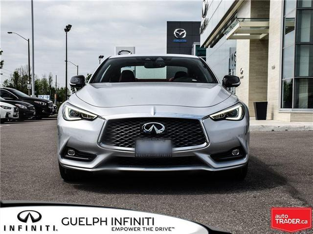 2018 Infiniti Q60 3.0t Red Sport 400 (Stk: I6590) in Guelph - Image 2 of 20