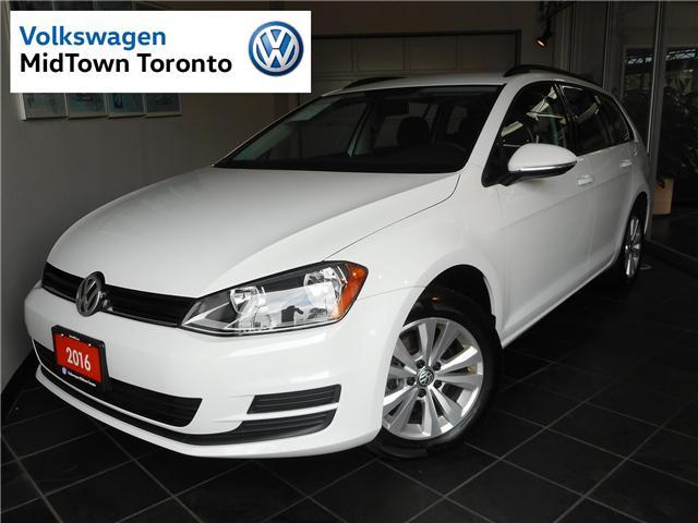 2017 Volkswagen Golf SportWagen  (Stk: P7023) in Toronto - Image 1 of 28