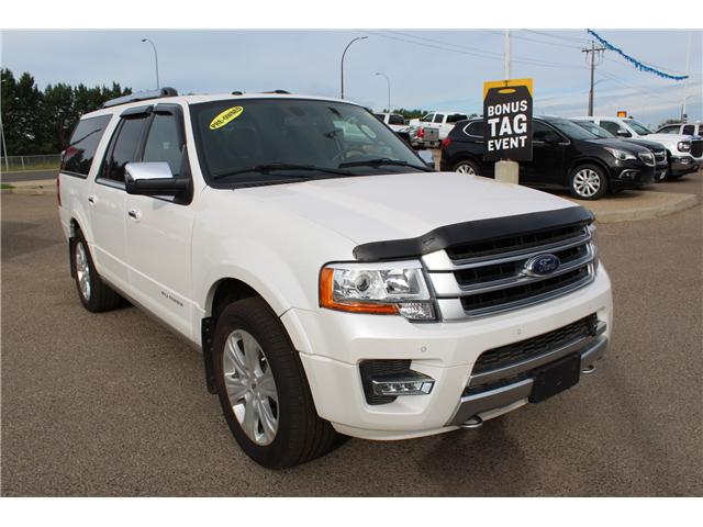 2017 Ford Expedition Max Platinum (Stk: 162913) in Medicine Hat - Image 1 of 29