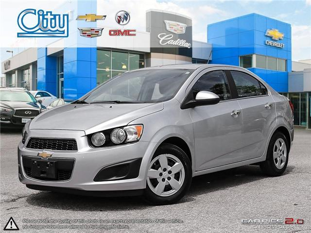 2014 Chevrolet Sonic LT Auto (Stk: R11964) in Toronto - Image 1 of 27