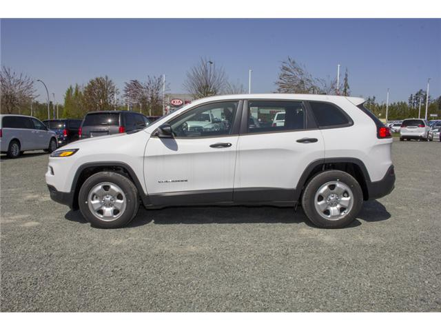 2017 Jeep Cherokee Sport (Stk: AG0794) in Abbotsford - Image 4 of 26