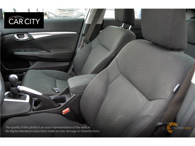 2015 Honda Civic EX (Stk: 2515) in Ottawa - Image 10 of 20