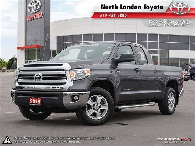 2016 Toyota Tundra SR 5.7L V8 (Stk: A218644) in London - Image 1 of 27