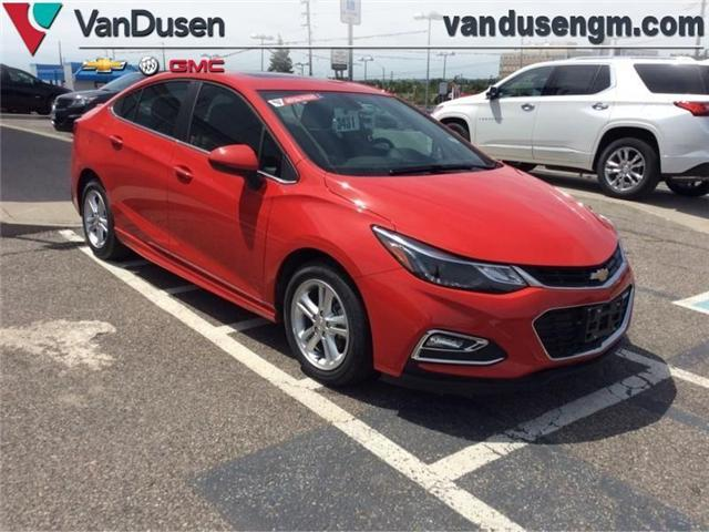 2018 Chevrolet Cruze LT Auto (Stk: 183431) in Ajax - Image 1 of 22