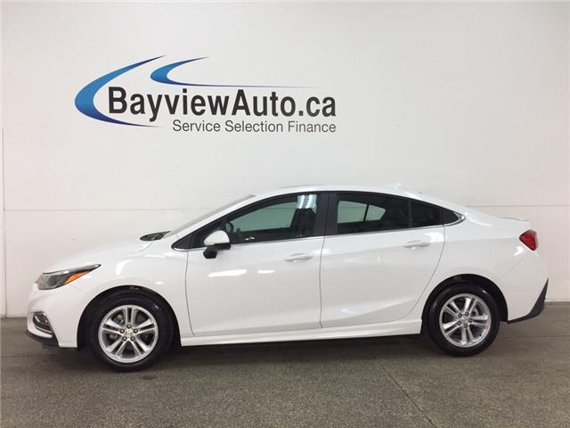 2018 Chevrolet Cruze LT Manual (Stk: 33135R) in Belleville - Image 1 of 27