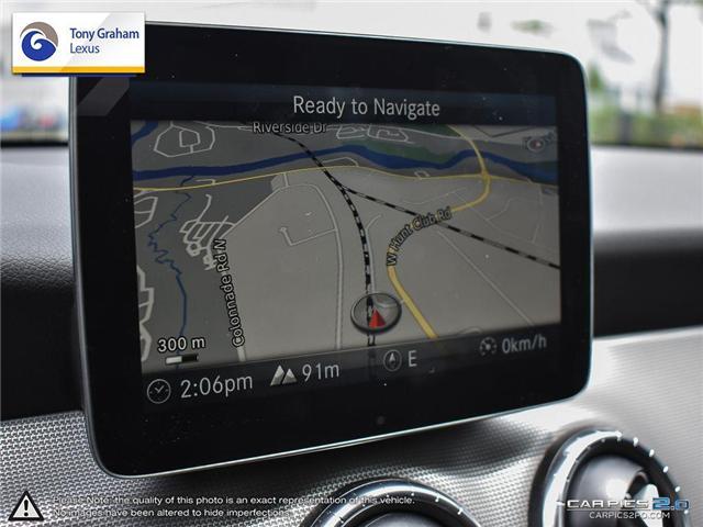 2017 Mercedes-Benz CLA 250 Base (Stk: P7881A) in Ottawa - Image 16 of 25