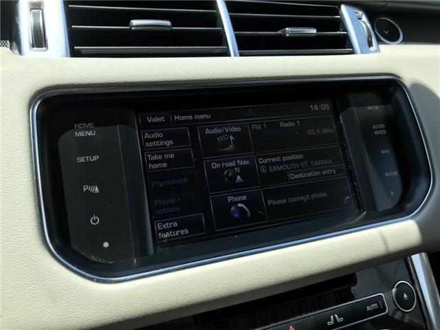 2014 Land Rover Range Rover Sport V6 SE (Stk: EA333207) in Sarnia - Image 17 of 21
