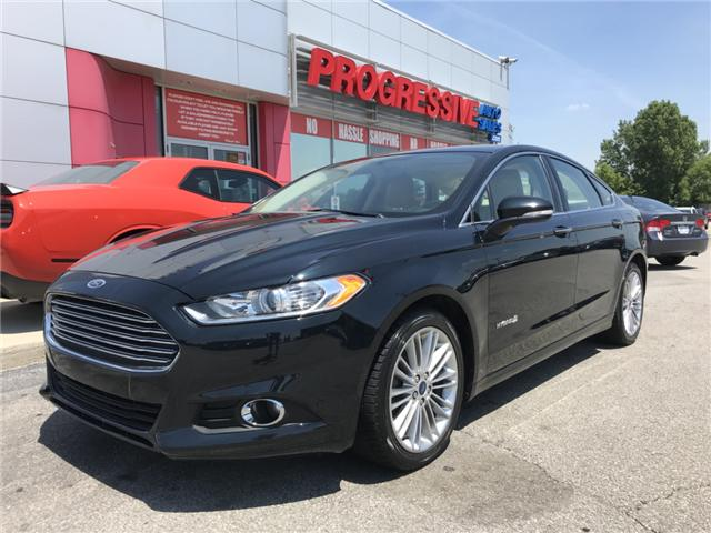 2014 Ford Fusion Hybrid SE (Stk: ER273824) in Sarnia - Image 1 of 19