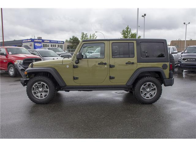 2013 Jeep Wrangler Unlimited Rubicon (Stk: J893223A) in Surrey - Image 4 of 25