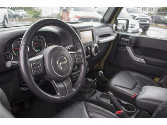 2013 Jeep Wrangler Unlimited Rubicon (Stk: J893223A) in Surrey - Image 12 of 25