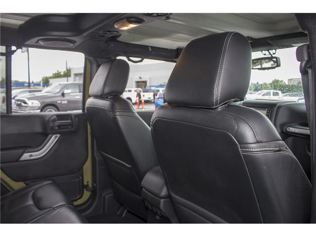 2013 Jeep Wrangler Unlimited Rubicon (Stk: J893223A) in Surrey - Image 16 of 25