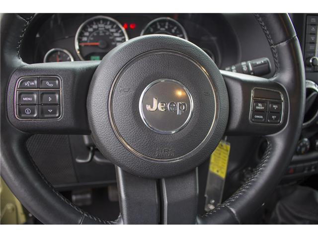 2013 Jeep Wrangler Unlimited Rubicon (Stk: J893223A) in Surrey - Image 21 of 25