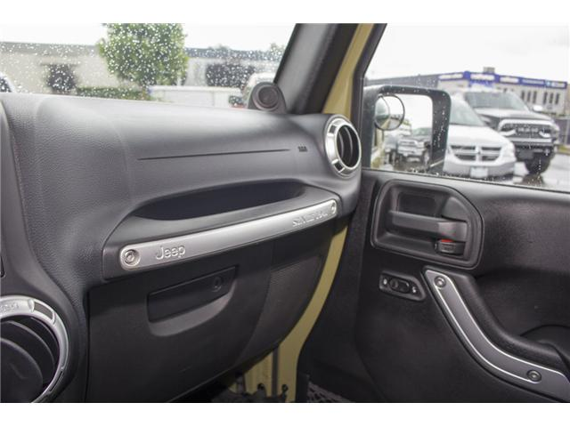 2013 Jeep Wrangler Unlimited Rubicon (Stk: J893223A) in Surrey - Image 24 of 25