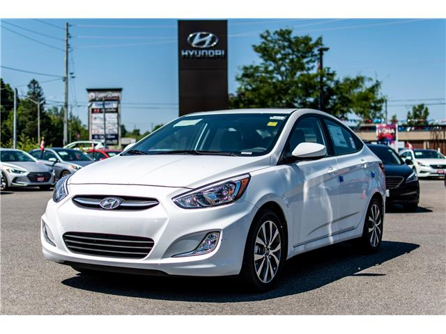 2017 Hyundai Accent SE (Stk: R76949) in Ottawa - Image 1 of 10