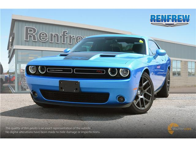 2016 Dodge Challenger R/T (Stk: SLH001A) in Renfrew - Image 1 of 20