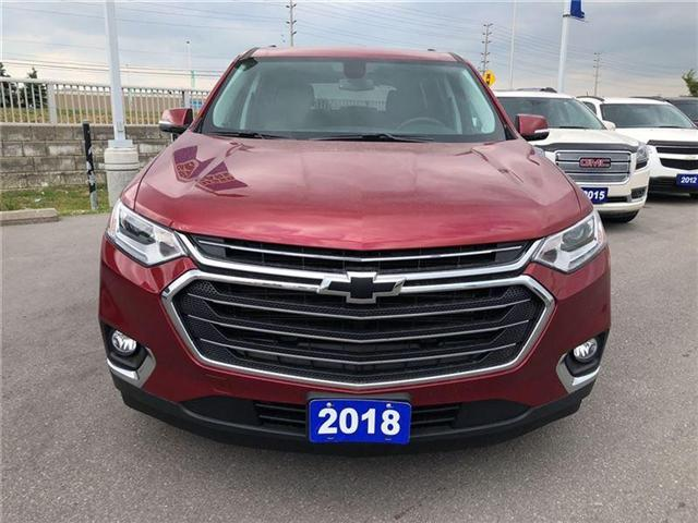 2018 Chevrolet Traverse 3LT|TRUE NORTH|AWD|QUADS|LEATHER| (Stk: 135255A) in BRAMPTON - Image 2 of 19