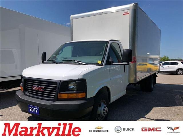 2017 GMC Savana 3500 CUBE-GM CERTIFIED PRE-OWNED (Stk: P6217) in Markham - Image 1 of 17