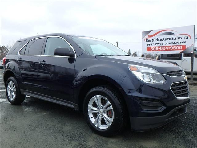 2016 Chevrolet Equinox LS (Stk: A2467) in Miramichi - Image 1 of 27