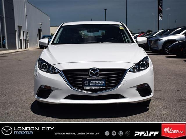 2016 Mazda Mazda3 GX (Stk: MA1502) in London - Image 2 of 19