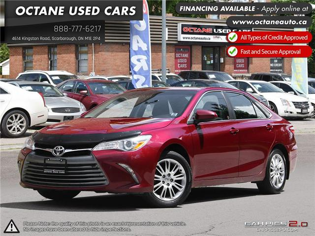 2015 Toyota Camry LE (Stk: ) in Scarborough - Image 1 of 27