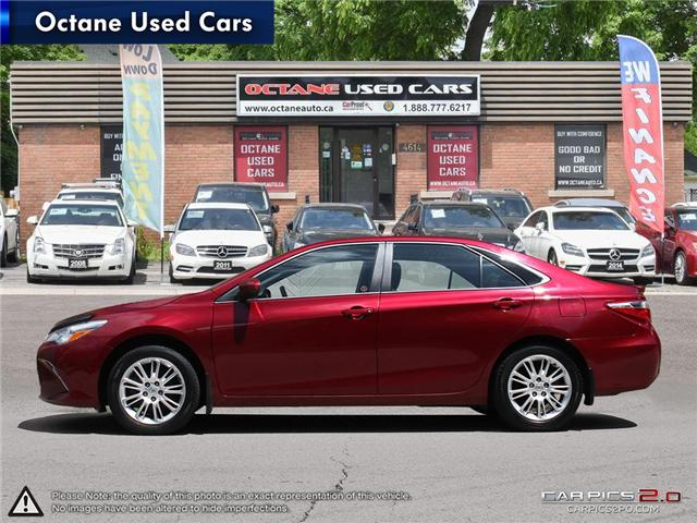 2015 Toyota Camry LE (Stk: ) in Scarborough - Image 3 of 27