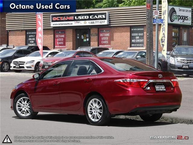 2015 Toyota Camry LE (Stk: ) in Scarborough - Image 4 of 27