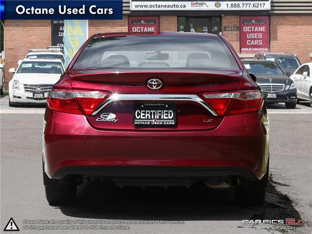 2015 Toyota Camry LE (Stk: ) in Scarborough - Image 5 of 27
