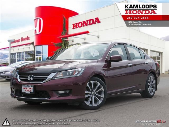 2014 Honda Accord Sport (Stk: 13935B) in Kamloops - Image 1 of 25