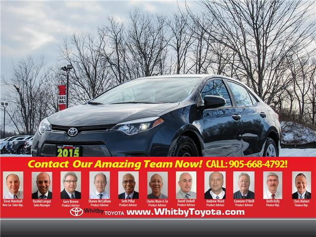 2015 Toyota Corolla  (Stk: 71253A) in Whitby - Image 1 of 22