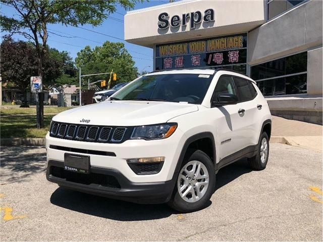 2018 Jeep Compass Sport (Stk: 184091) in Toronto - Image 1 of 18
