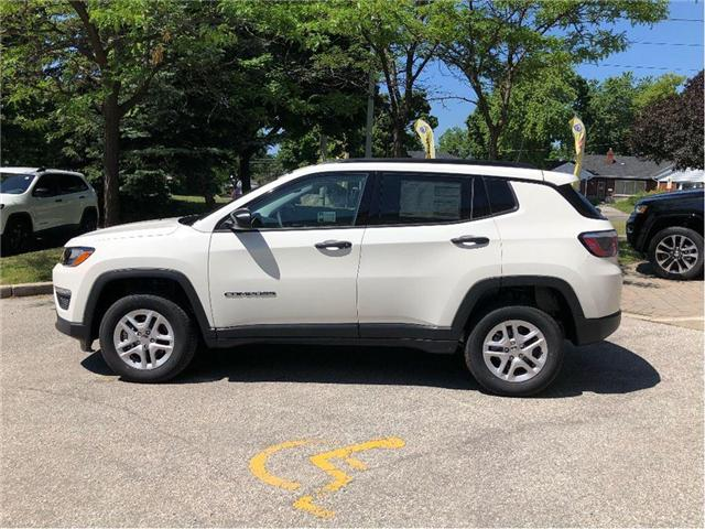 2018 Jeep Compass Sport (Stk: 184091) in Toronto - Image 2 of 18
