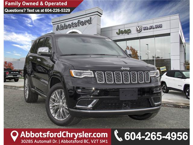 2018 Jeep Grand Cherokee Summit (Stk: J433470) in Abbotsford - Image 1 of 25