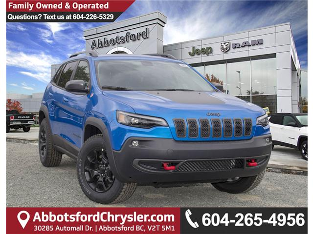 2019 Jeep Cherokee Trailhawk (Stk: K210865) in Abbotsford - Image 1 of 26