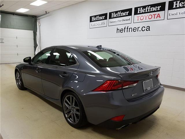 2017 Lexus IS 300 Base (Stk: 187177) in Kitchener - Image 6 of 22