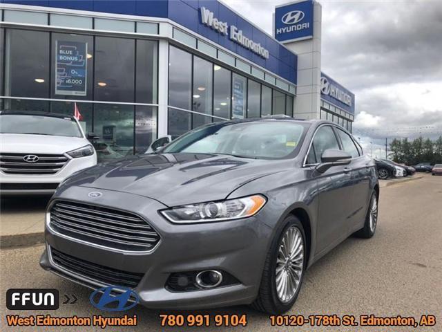 2013 Ford Fusion Titanium (Stk: E4037) in Edmonton - Image 1 of 22