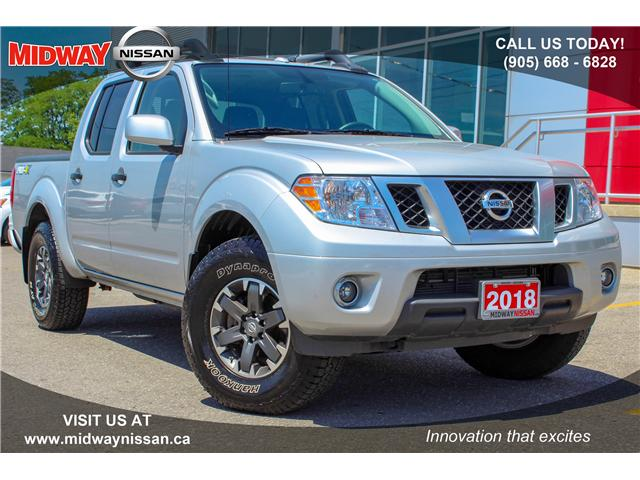 2018 Nissan Frontier PRO-4X (Stk: U1355R) in Whitby - Image 1 of 32