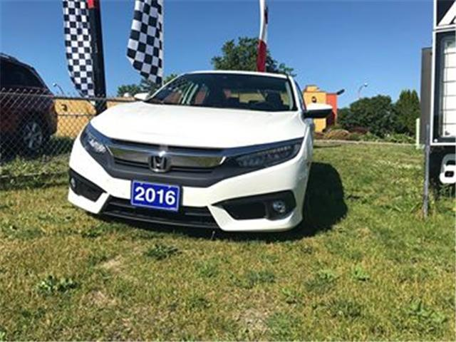 2016 Honda Civic Touring (Stk: UC0349) in Cornwall - Image 1 of 7