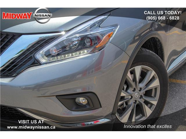 2018 Nissan Murano SL (Stk: U1403) in Whitby - Image 9 of 28