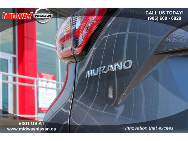 2018 Nissan Murano SL (Stk: U1403) in Whitby - Image 17 of 28