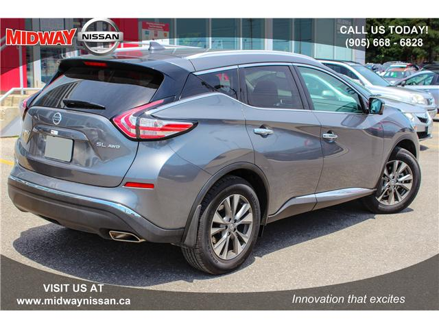 2018 Nissan Murano SL (Stk: U1403) in Whitby - Image 5 of 28