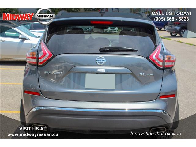 2018 Nissan Murano SL (Stk: U1403) in Whitby - Image 6 of 28