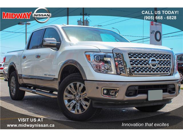 2018 Nissan Titan Platinum 4×4 Crew Cab 5.6 ft. box