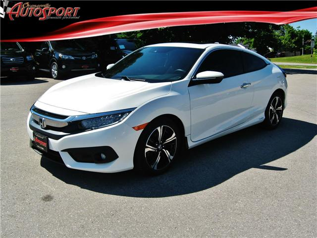 2016 Honda Civic Touring (Stk: 1370) in Orangeville - Image 1 of 22