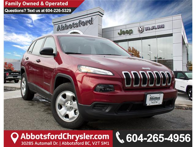 2017 Jeep Cherokee Sport (Stk: AG0791) in Abbotsford - Image 1 of 30