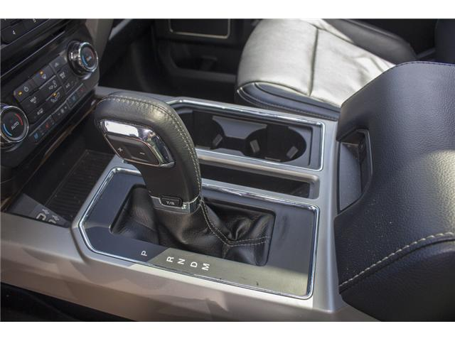 2017 Ford F-150 Lariat (Stk: P6118) in Surrey - Image 26 of 28