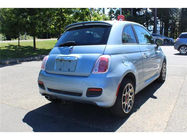 2013 Fiat 500 Sport (Stk: 11486A) in Courtenay - Image 3 of 16
