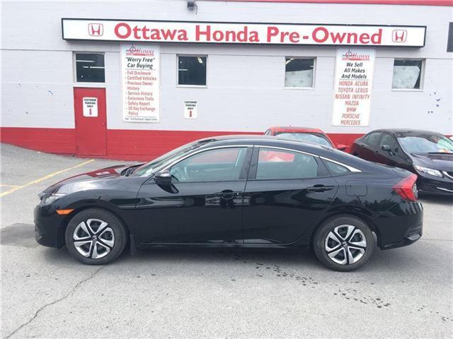 2016 Honda Civic LX (Stk: H7089-0) in Ottawa - Image 1 of 21